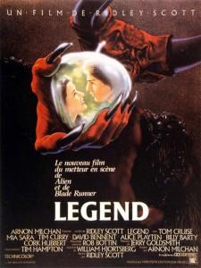 Legend (1985) Affiche de cinéma