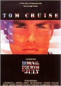 Né un 4 juillet (1990) Affiche de cinéma