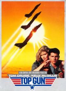 Top Gun (1986) Affiche de cinéma