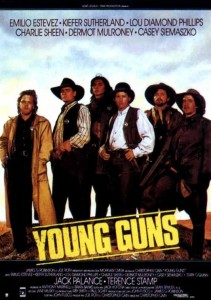 Young guns (1988) Affiche de cinéma